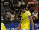 2008 Thomas Cup - SF - MS1 - Lee Chong Wei vs Lin Dan _ 4/4