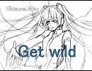 「初音ミク」 GETWILD winter-mix 【TMNカバー】