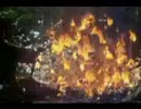 森の中でプリントを燃やそうとして大爆発