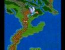 ラーミアに乗って飛び続ける動画 (SFC DQ3)