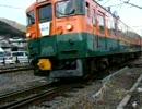 2009年1月10日 急行善知鳥(うとう)号 辰野駅入線