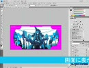 PhotoShopCS4試用版で痛PSPを作る講座