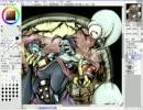 ヴァンパイアのザベルとレイレイを描いてみた