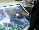 サムスンの大型タッチパネル液晶
