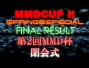 【第2回】MikuMikuDanceCup SPRING&SPECIAL 表彰閉会式【MMD杯】