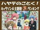 「ハヤテのごとく!」キャラクターCD & 主題歌シングルランキング