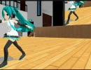 【MikuMikuDance】 フェンシング