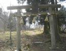 秘境・比婆神社の参道に車で突っ込んでみた
