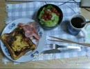 「料理祭出品作」パンツマンのフレンチトースト。