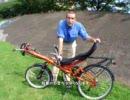 リカンベント自転車の紹介