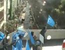 グルジャ事件追悼 東トルキスタン支援デモ その2