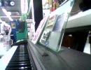 ビックカメラの売り場で少女さとりを弾い