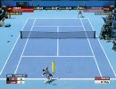 Virtua tennis (パワースマッシュ) 3 PC版 HassでVery Hardをクリアしてみた 1