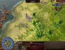AoE3 アジアの覇王 イギリス大尉vsイギリス少佐 階級別H2H少佐以下 2回戦