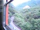 [JR吾妻線]日本一短い樽沢トンネル[115系](車窓)