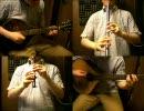 東方萃夢想/砕月をアイリッシュ楽器等で演奏してみた。