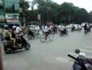 ベトナム ハノイの交差点