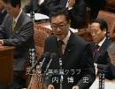 【改正薬事法】衆議院 予算委員会 2009年2月26日 川内博史