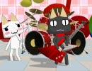 【MikuMikuDance】2Bassドラムでマリオとか?【まいにちいっしょ】