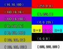 【色空間テスト】BT.601出力を--colormatrix無しでエンコした間違いMP4