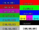 【色空間テスト】BT.601出力を--colormatrixつきでエンコした正しいMP4