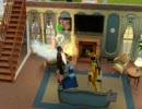 Sims3 火事3連発