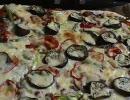 ピザを作ってみましたわ