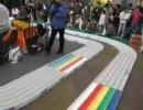 3,25日ミニ四駆祭り。レースの様子