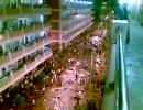(遠景)6月26日中国広東省で起きたウイグル人労働者襲撃事件映像