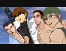 【MMD】「げいおん!」1期OP =Gachimuchi! Boys=
