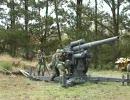 88mm flak の砲撃シーン