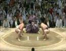 大相撲 朝青龍が34年ぶりの大技!やぐら投げ