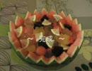 スイカのフルーツポンチ作ってみた