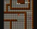 ファミコン版ラビリンス エリア1 レンガの道