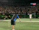 全豪オープン2005準決勝 サフィンvsフェデラー