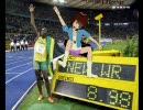 【第3回MMD杯本選】世界陸上2009男子100m決勝ボルトvsほめ春香【世界新】