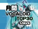 月間VOCALOIDランキング TOP30DAYS Part1