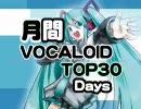 月間VOCALOIDランキング TOP30DAYS Part3