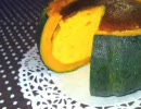 【丸ごと】かぼちゃのチーズケーキ作ってみた【使用】