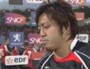 2007ラグビーW杯 日本×カナダ 試合終了間際の同点シーン