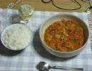 【料理祭出品作】パンツマンの鶏肉のトマト煮。