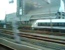 【こだま704号】東静岡新在並走【ホームライナー沼津2号】