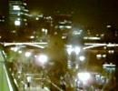 巨大アヒル~最終日夜景