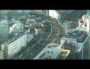 【ホテル客室展望】 東京都新宿駅付近の鉄道風景 【10倍速】