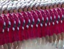 2009中国国慶節パレードの早送りとスローモーション
