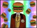 【ヘタリア】君もハンバーガー☆【手書き】