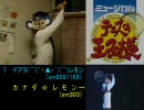 【比較版】カナダ☆レモンとその再現版(⌒(´・▲・`)⌒)