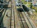 2009年10月31日 セピア色の信越線号 豊野駅入線