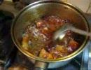 パンツマンの豚肉のコーラ煮。