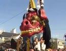 唐津くんち 町廻り 2009